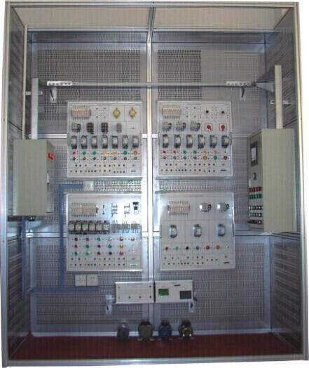 (2)接触器联锁的三相交流异步电动机正,反转控制电路的连接.